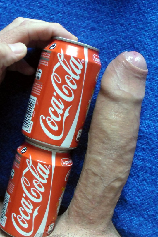 How big is the average penis? Mine its bigger than two cans of cock