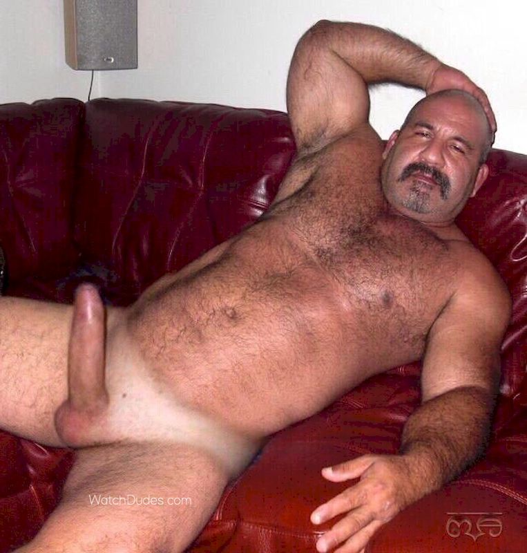 Naked very hairy men